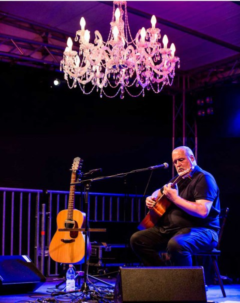 Peter Reimer auf der Bühne des Phungo 2016 in Pfungstadt